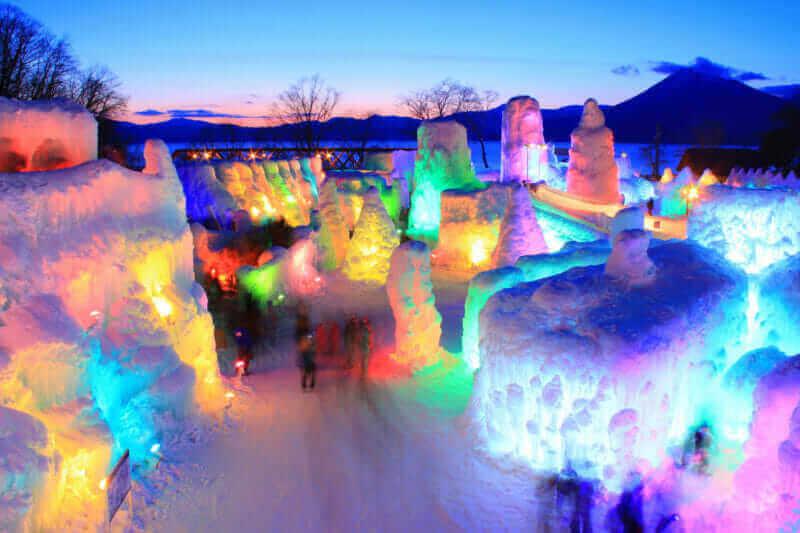 Lake Shikotsu Blue Festival