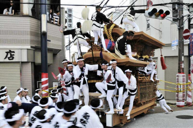 An image of Kishiwada Danjiri Festival = shutterstock