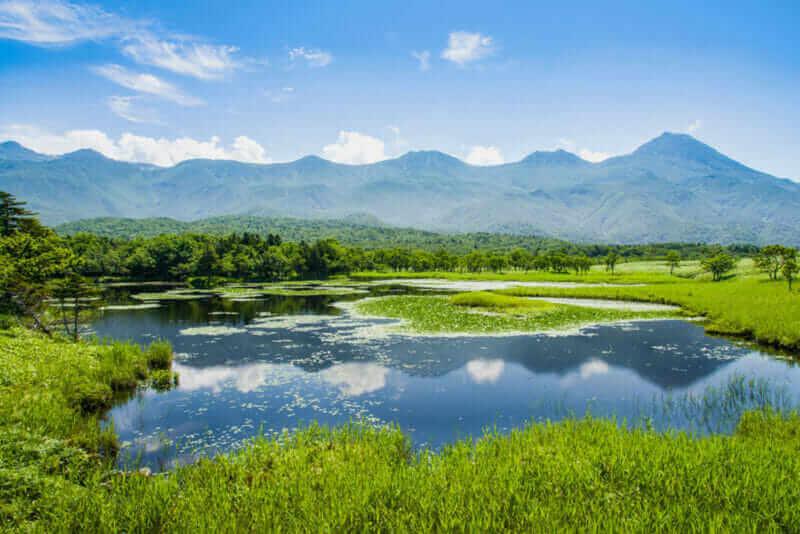Shiretoko National Park located on the Shiretoko Peninsula in eastern Hokkaido = shutterstock