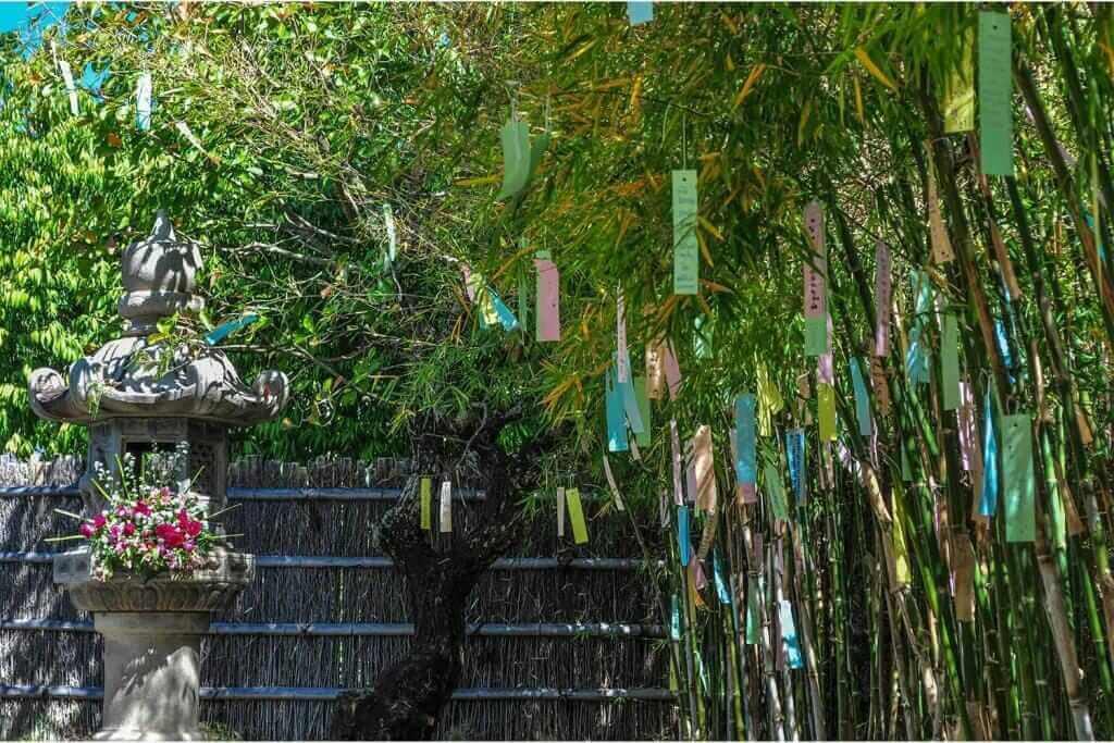 Bamboo Tanabata festival in Japan = Shutterstock