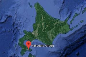 Map of Hakodate Airport