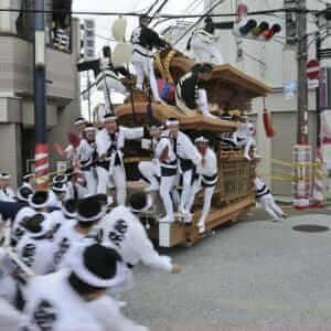 Danjiri Festival Kishiwada, Osaka = Shutterstock