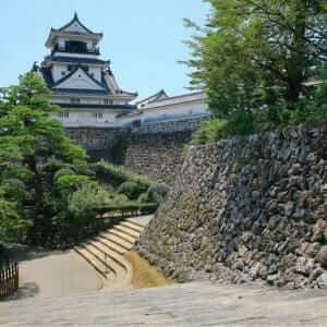 Kochi castle tower, Kochi, Kochi, Japan = Shutterstock