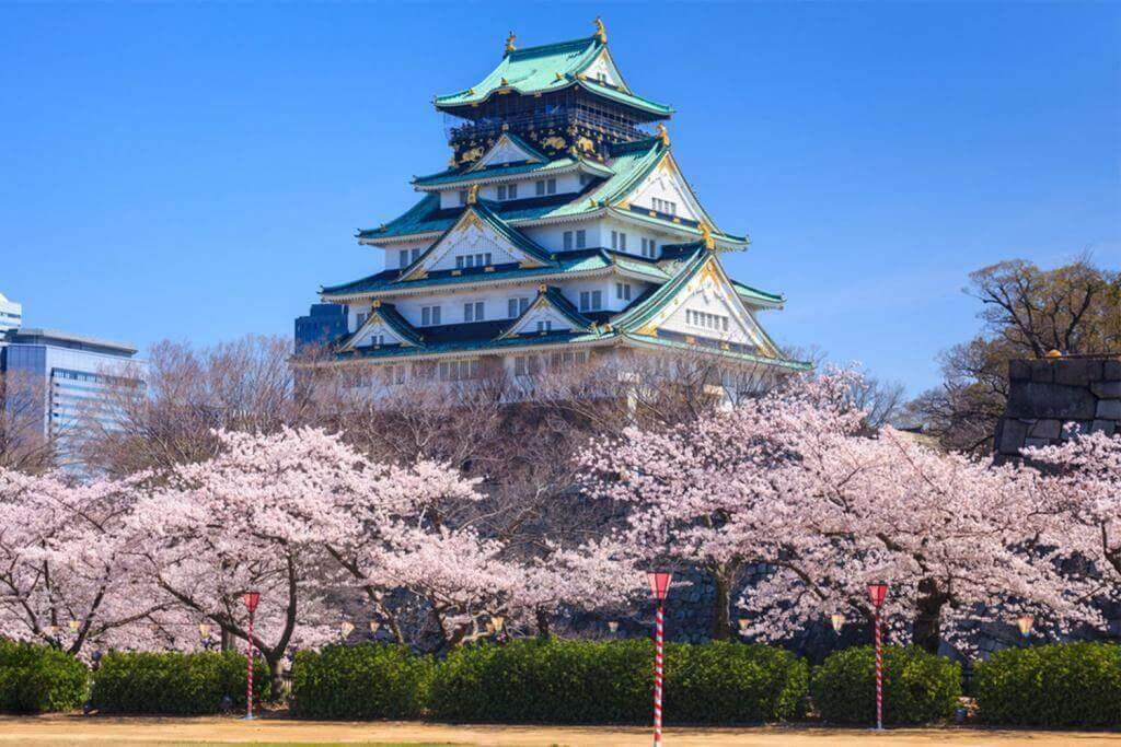 Osaka Castle, Japan = Shutterstock