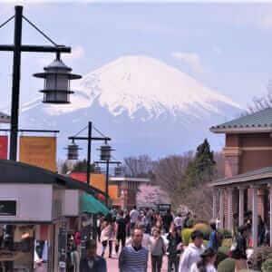 GOTEMBA PREMIUM OUTLETS, Shizuoka, Japan = Shutterstock