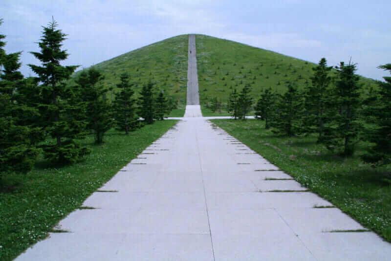 Парк Moerenuma, разработанный Исаму Ногучи, Саппоро