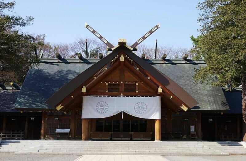 Hokkaido Shrine is a large shrine representing Hokkaido, Sapporo