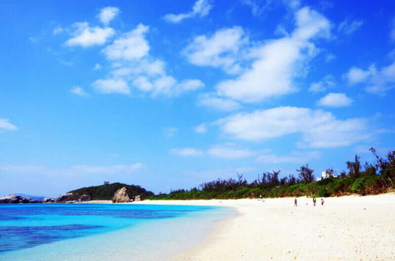 Awaren Beach(Tokashiki Island, Okinawa)