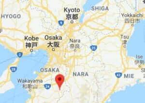 Map of Koyasan