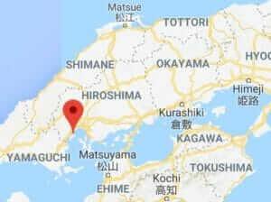 Map of Mt.Misen, Miyajima