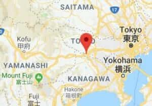 Map of Mt.Takao