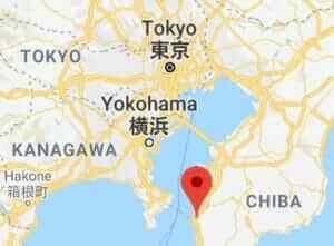 Map of Nokogiriyama
