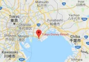 Map of Tokyo Disney Resort