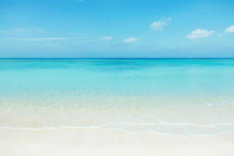 Nishihama beach in Hateruma-jima, Okinawa = shutterstock