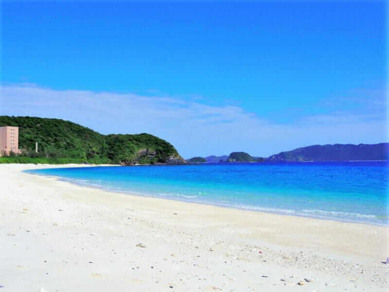 Furuzamami beach Okinawa, Japan = shutterstock