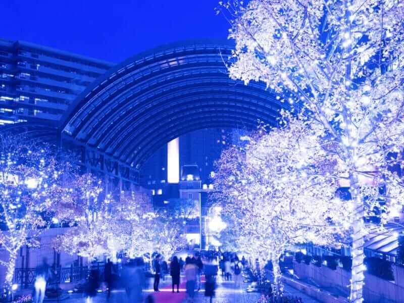 Christmas illumination of Yebisu Garden Place , Tokyo, Japan= shutterstock