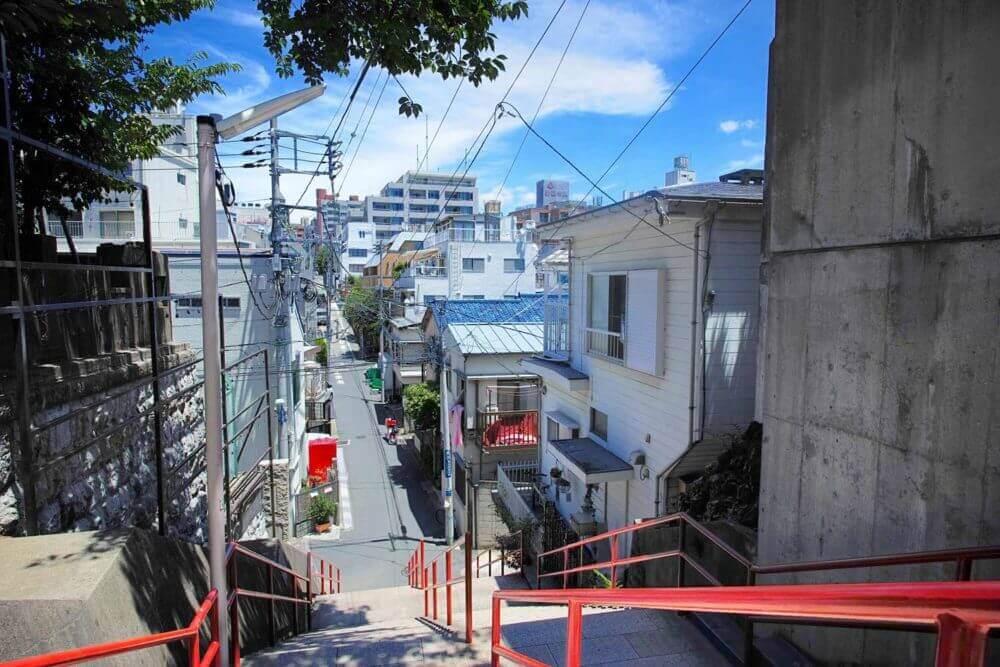 Suga Jinja-schrijn in Yotsuya, Tokyo, Japan