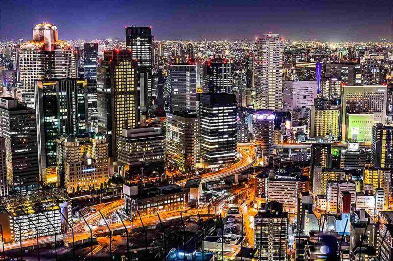 Nightscape, Osaka, Umeda = shutterstock