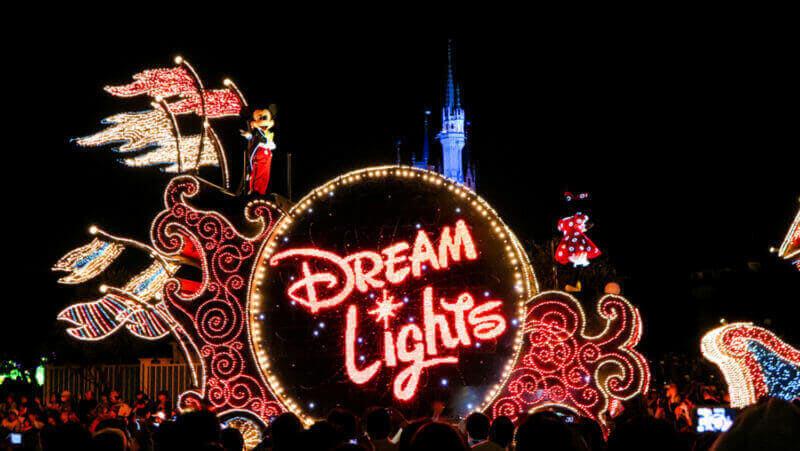 Magic Electrical Parade Dream Lights in Tokyo Disneyland = shutterstock