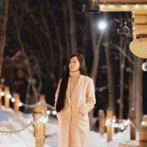 Winter Wear in Hokkaido, Japan