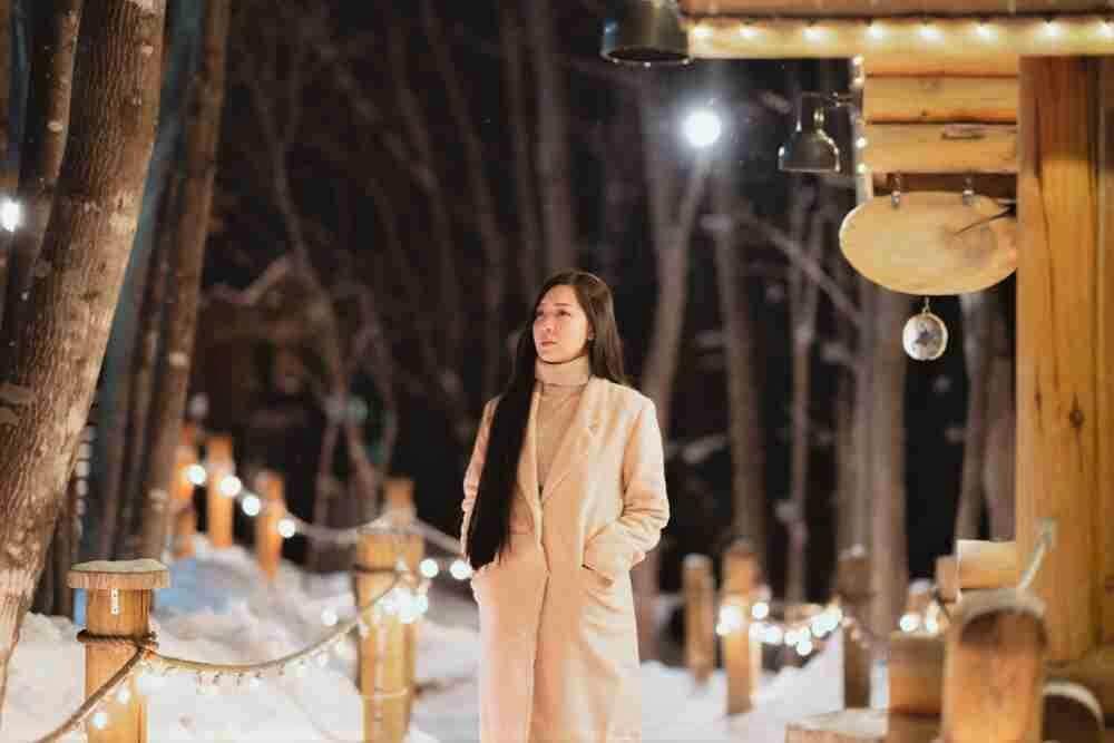 Зимняя одежда на Хоккайдо, Япония