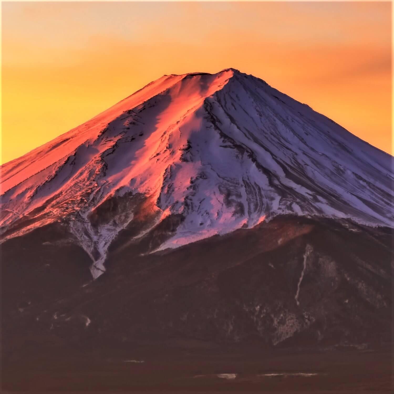 Snow-covered Mt. Fuji 1