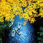 Takachiho Gorge in Autumn = Shutterstock