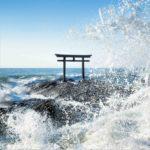 """Kamiiso no Torii Gate"" at Oarai-Isosaki Jinja Shrine, Ibaraki Prefecture = Shutterstock 1"