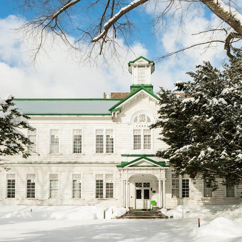 The vast and beautiful campus of Hokkaido University, Sapporo, Hokkaido 1