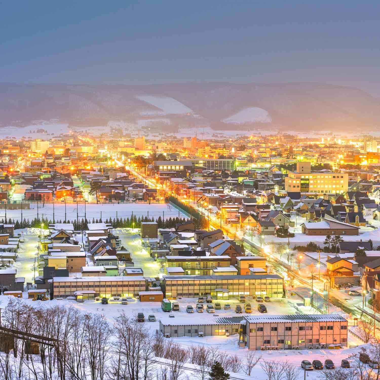 Furano, Hokkaido, Japan = Shutterstock 1