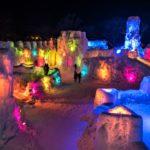 The Lake Shikotsu Ice Festival held every winter, Hokkaido = Shutterstock 10