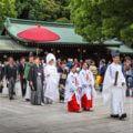 The Meiji Jingu Shrine in Tokyo = Shutterstock 1
