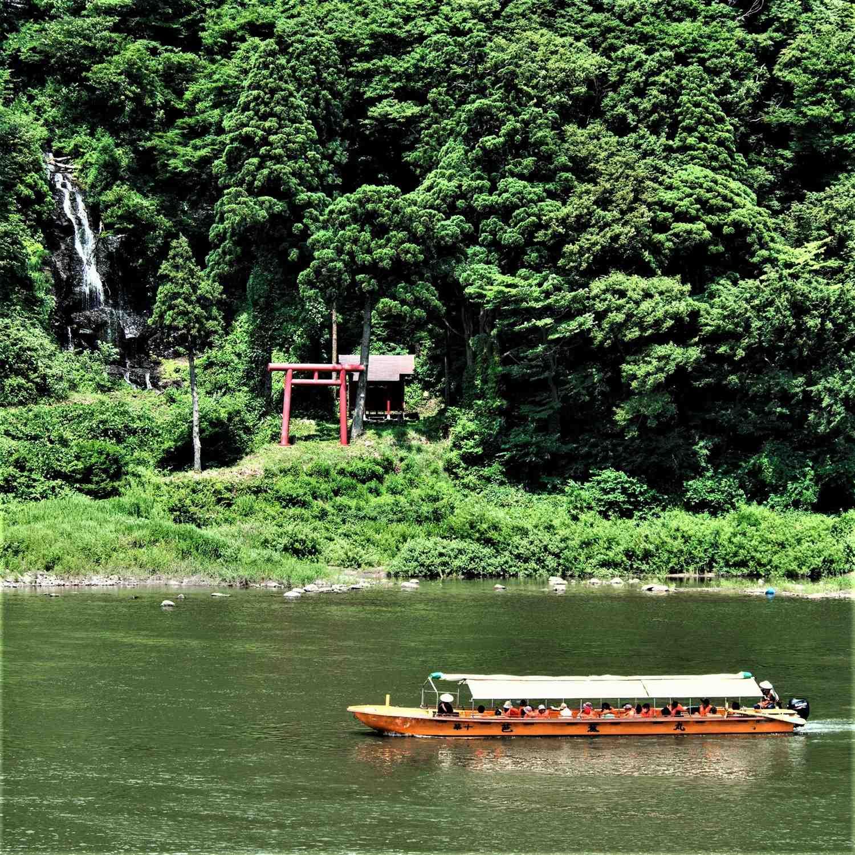 Mogami River in Yamagata Prefecture