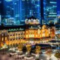 Lighting design in Japan: Tokyo Station = Shutterstock 3