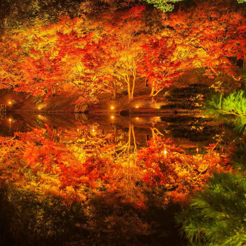 Ritsurin Garden in Takamatsu City, Kagawa Prefecture = Shutterstock 1