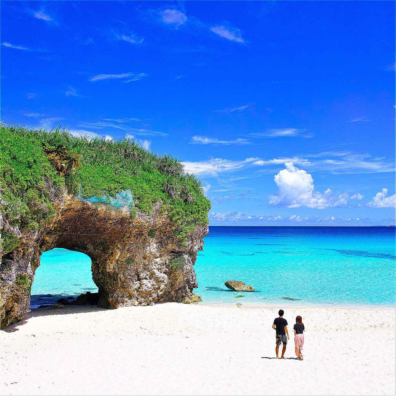 Sunayama Beach in Miyakojima Island, Okinawa = Shutterstock 1