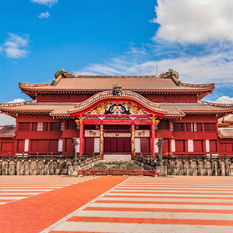 Shuri Castle in Okinawa Prefecture = Shutterstock 1