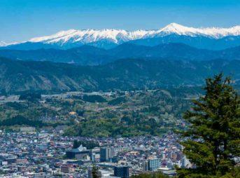 Takayama in Gifu Prefecture = Shutterstock