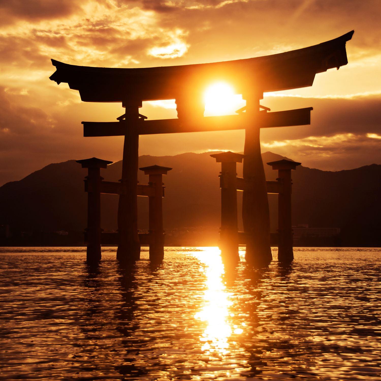 Miyajima Island in Hiroshima Prefecture = Shutterstock 1